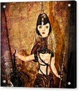 Steampunk - The Headhunter Acrylic Print by Paul Ward