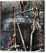 Steampunk - The Steam Engine Acrylic Print