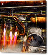 Steampunk - Train - The Super Express  Acrylic Print