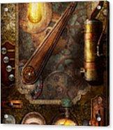 Steampunk - Victorian Fuse Box Acrylic Print