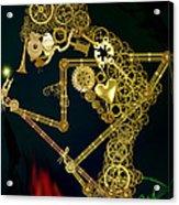 Steampunk Wayang Kulit Acrylic Print