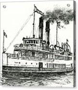 Steamship Tacoma Acrylic Print