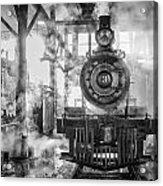 Steamy Acrylic Print