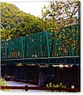 Steel Bridge Acrylic Print