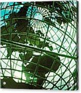 Steel Globe At The Trump International Acrylic Print