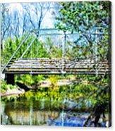 Steel Span Bridge Gettysburg Acrylic Print
