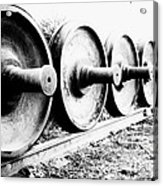 Steel Wheels Acrylic Print