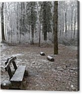 Steep And Frost - 3 Acrylic Print