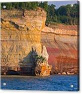 Steep Cliffs Acrylic Print