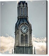Steeple In Haverhill Ma Acrylic Print