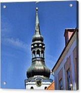 Steeple - Tallin Estonia Acrylic Print
