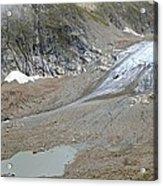 Stein Glacier, Switzerland Acrylic Print