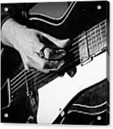 Stella Burns - Guitar Close-up Acrylic Print
