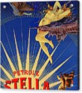 Stella Petrol Acrylic Print