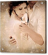 Stellar Couple Dance Acrylic Print