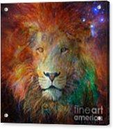 Stellar Lion Acrylic Print