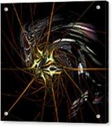 Stellar Spikes Acrylic Print