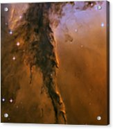Stellar Spire In The Eagle Nebula Acrylic Print by Adam Romanowicz