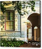 Stellenbosch Gate Acrylic Print by Rick Bragan