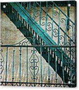 Step By Step - Into The Past Acrylic Print