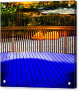 Step Out Acrylic Print