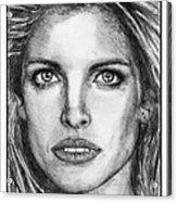 Stephanie Seymour In 1992 Acrylic Print