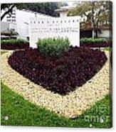 Stephen Circle Gardens 3 Acrylic Print