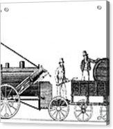Stephensons Rocket 1829 Acrylic Print
