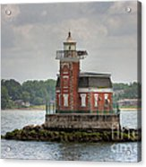 Stepping Stones Lighthouse I Acrylic Print