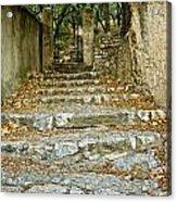 Steps In Cavaillon Acrylic Print