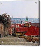 Steps Of Prague Acrylic Print