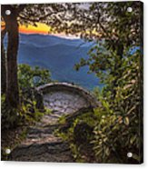 Steps To A View Acrylic Print