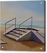 Steps To Beach Acrylic Print