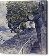 Steps To Beauty On Moro Rock Acrylic Print