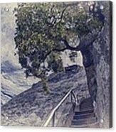 Steps To Beauty On Moro Rock Acrylic Print