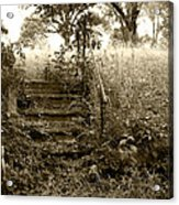 Steps To Yesterday Acrylic Print