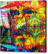 Steve Jobs Ghost In The Machine 20130618 Long Acrylic Print by Wingsdomain Art and Photography
