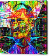 Steve Jobs Ghost In The Machine 20130618 Square Acrylic Print