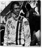Steve Mcqueen In Racing Gear Acrylic Print by Retro Images Archive