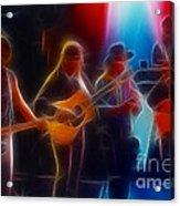 Steve Miller Band Fractal-1 Acrylic Print