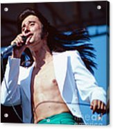Steve Perry Of Journey At Day On The Green Acrylic Print