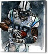 Steve Smith Acrylic Print by Michael  Pattison