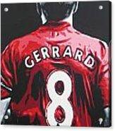 Steven Gerrard - Liverpool Fc 3 Acrylic Print