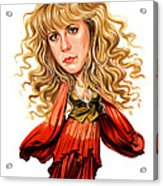 Stevie Nicks Acrylic Print