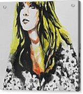 Stevie Nicks 02 Acrylic Print
