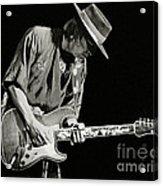 Stevie Ray Vaughan 1984 Acrylic Print