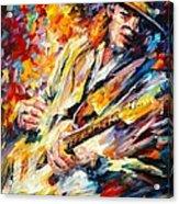 Stevie Ray Vaughan Acrylic Print