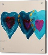 Stiched Together Acrylic Print