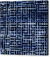 Stick Labyrinth Acrylic Print