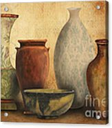 Still Life-d Acrylic Print by Jean Plout